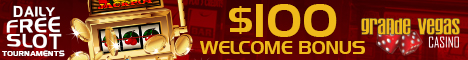 $00 Welcoome Bonus at Grande Vegas